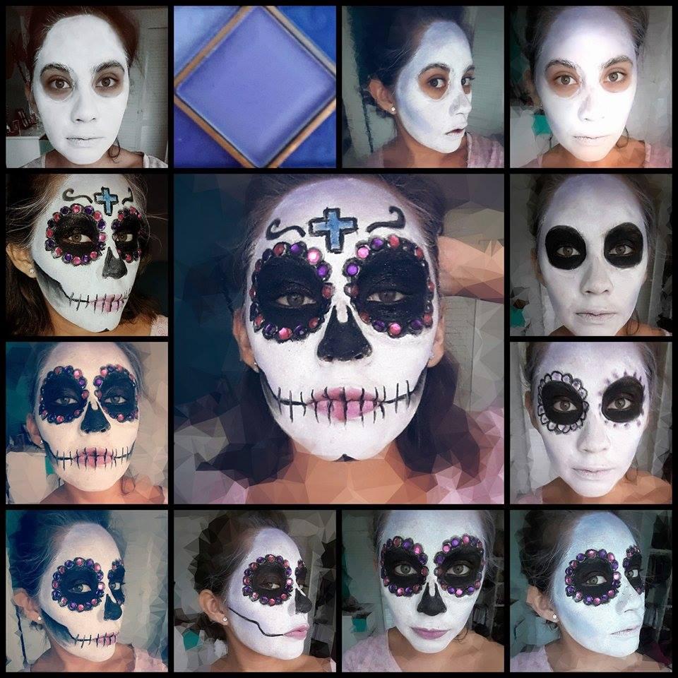 maquillaje catrina tutorial
