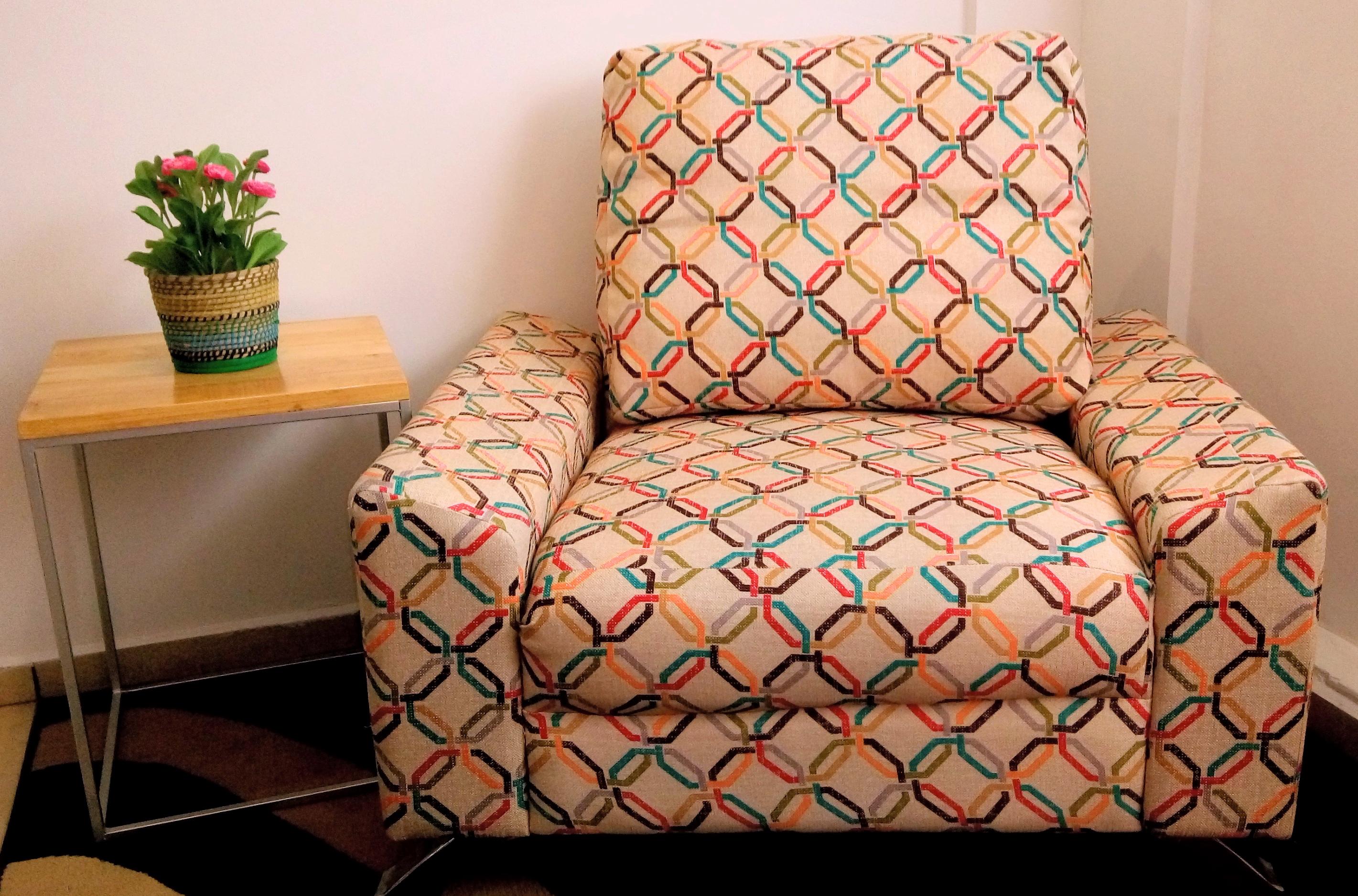 Industrial rosa palanqueta for Hipo muebles